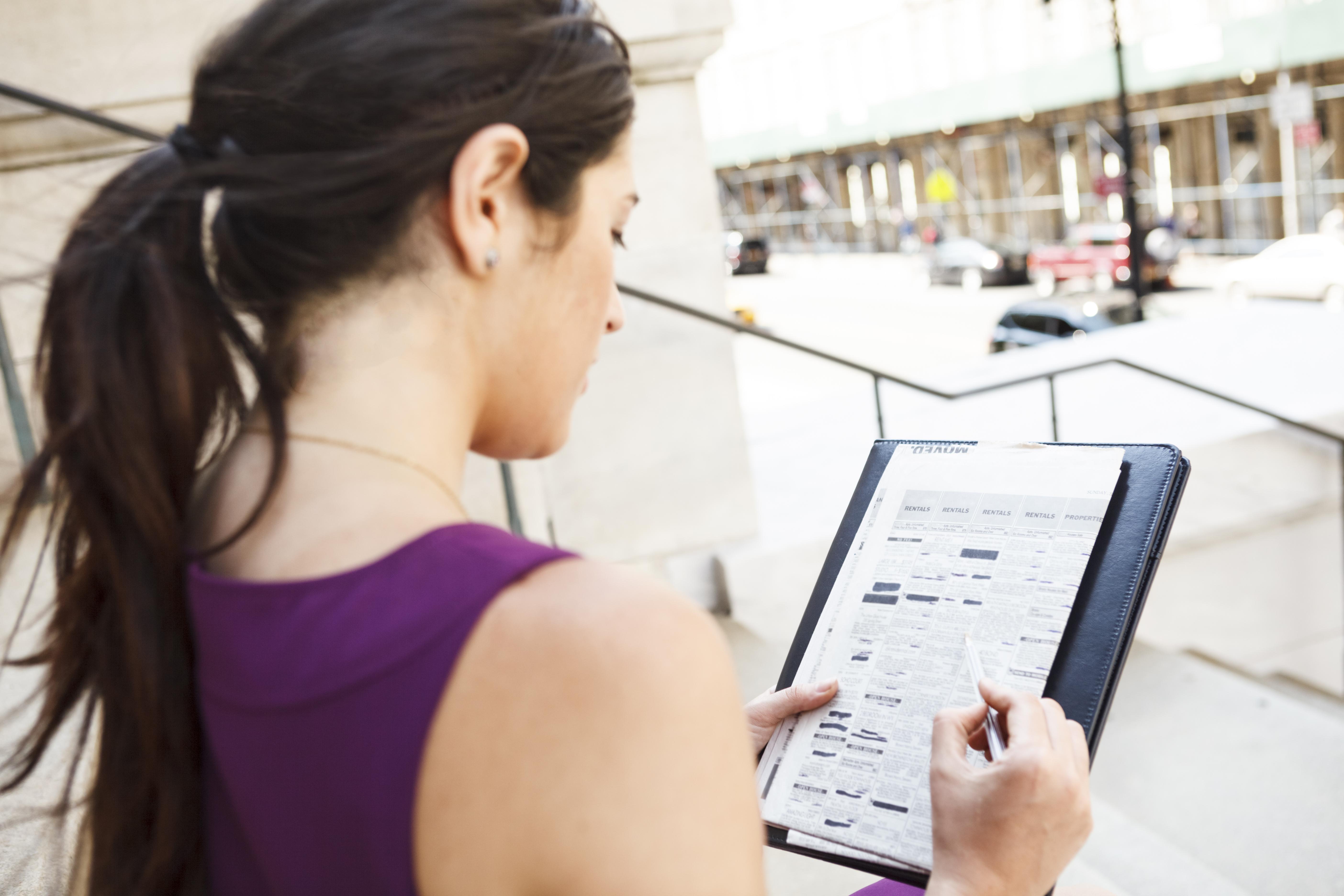 Wohnungsinserat mit Energieausweis Daten