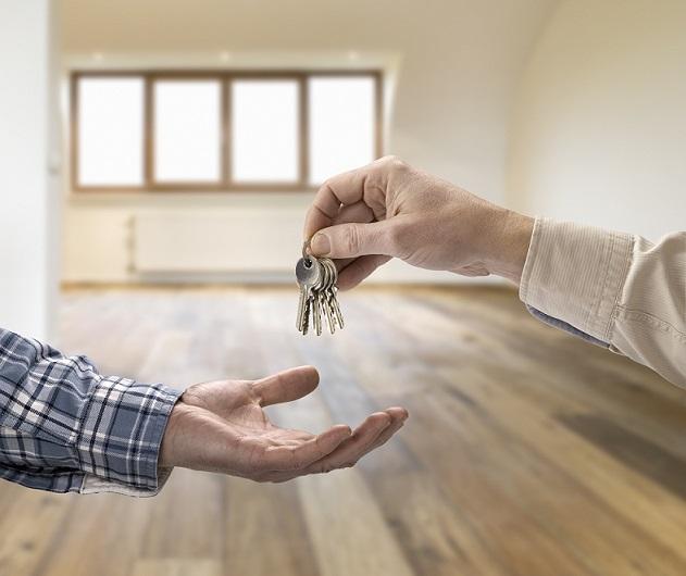 Schlüsselübergabe Wohnung